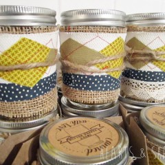 Handmade Gifts:  Jar Cozy