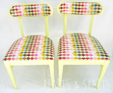 Tula Pink Parisville Chairs