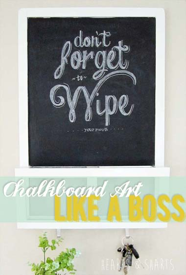 Create Your Own Chalkboard Art Like a Pro