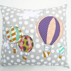 Handmade Gifts: Hot Air Balloon Pillow