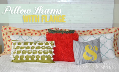 Pillow Shams with Flange