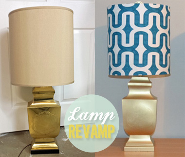 Lampshade Makeover That Doesn't Look Like Crap