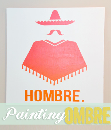 Painting Ombre