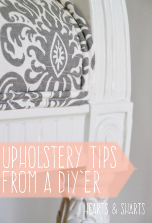 Upholstery Tips from a DIY'er