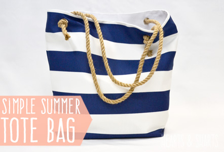 Simple Summer Tote for The Crafting Chicks