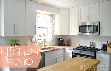 Kitchen Reno: Before and After