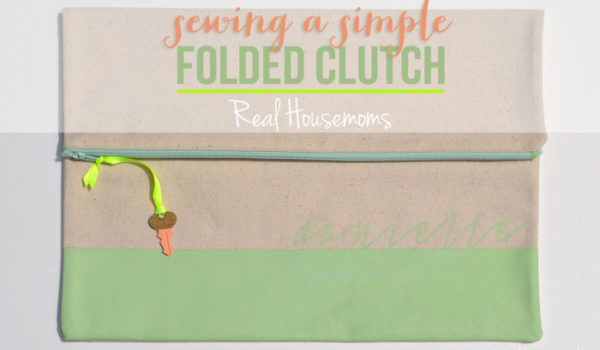 Sewing a Simple Folded Clutch