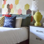 DIY Painted Wood Headboard | Hearts & Sharts