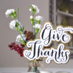 Give Thanks Print & Cut File | Hearts & Sharts