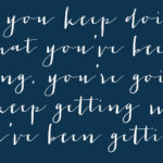 Keep Getting What You're Getting | Hearts & Sharts