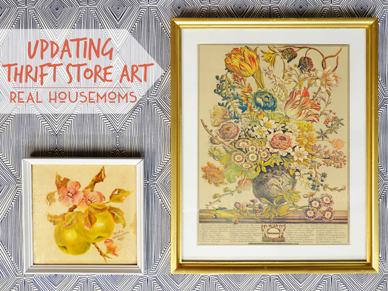Updating Thrift Store Art