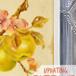 Updating Thrift Store Art || Heasrt & Sharts for Real Housemoms