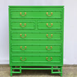 Bamboo Dresser - Before & After || Hearts & Sharts