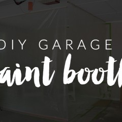 DIY Garage Paint Booth || Hearts & Sharts