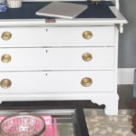 Antique Secretary Makeover || Hearts & Sharts