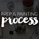 Prep and Painting Process || Hearts & Sharts