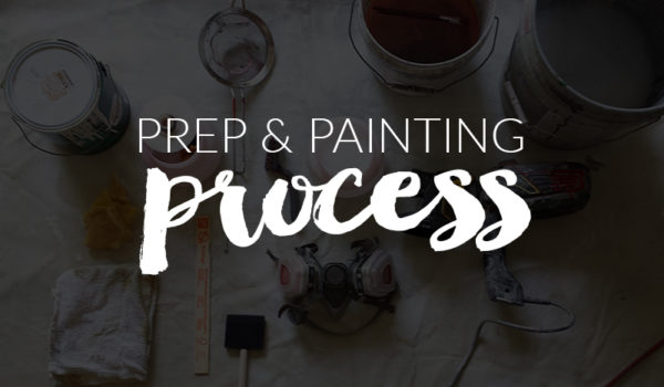 Prep and Painting Process