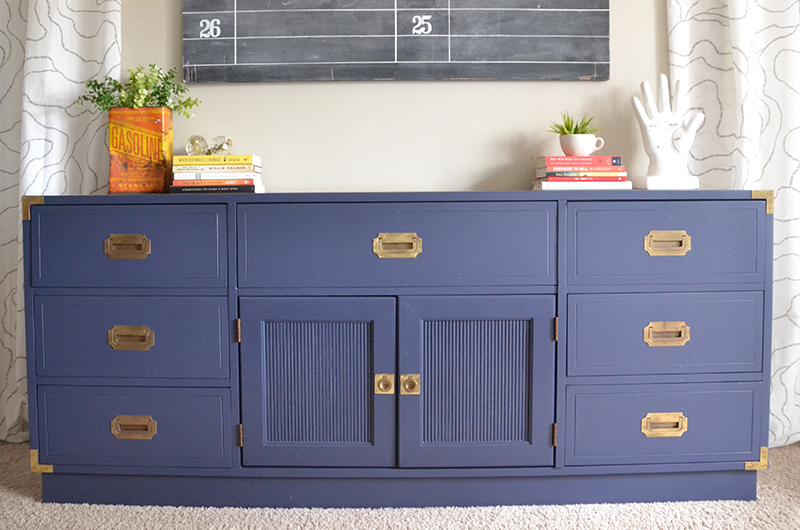 Campaign Dresser Makeover | A Furniture Nightmare
