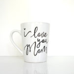 Easy DIY Mother's Day Coffee Mug || Hearts & Sharts