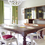 Colorful Eclectic Modern Dining Room || Hearts & Sharts