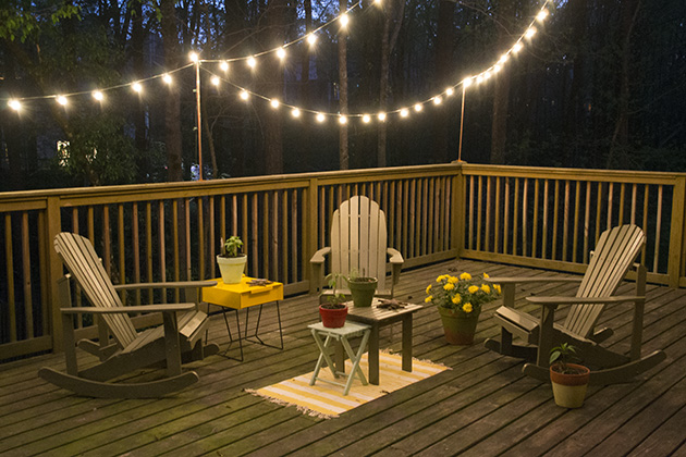 outdoor deck lighting. diy deck lighting hearts u0026 sharts outdoor