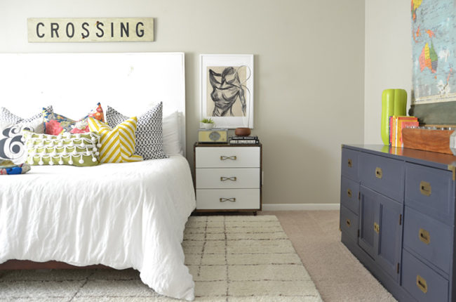 Evolution of a Master Bedroom || Thrifted-Eclectic