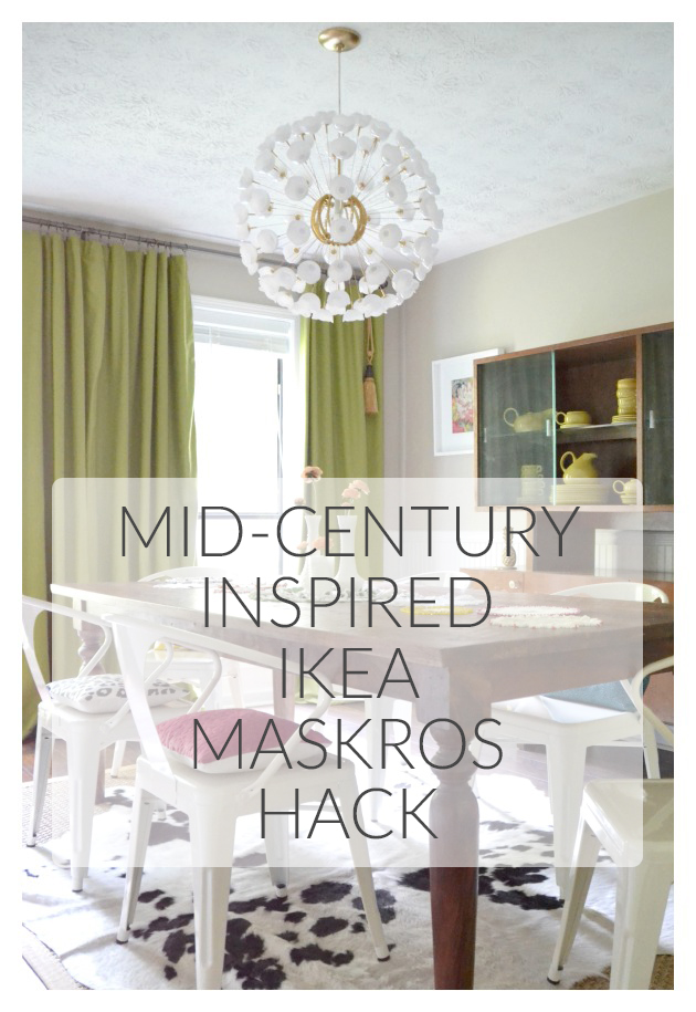 MCM Inspired Ikea Maskros Hack || Hearts & Sharts