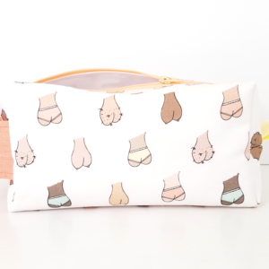 Balls-Boobs-Butts-Yellow-Travel-Toiletry-Bag-Pouch-HeartsAndSharts copy